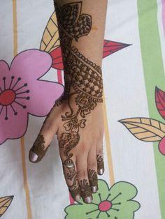 Mehendi design #6 Mehendi, Hand Henna, Hand Tattoos, Design, Design Comics, Arm Tattoos, Mehndi