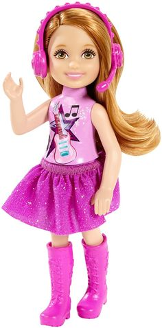 Mattel Barbie Doll - Chelsea & Friends - Pop Star (CGP12)  Manufacturer: Mattel Barcode: 887961070378 Enarxis Code: 016787 #toys #Mattel #Barbie #doll #Star #Chelsea