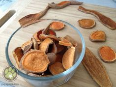 Tired of all the dog treat recalls? Time to start making homemade dog treats! Don't worry, these are SUPER easy and there is just one ingredient - Sweet Potatoes (or yams). But, you will want to plan on being home for a few hours. No need for a food...