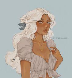 "art by s t e p h on Instagram: ""Yue 🌙 Couldn't draw the avatar girls and forget about her ✨ . . . #yue #yueavatar #yuefanart #atla #atlafanart #avatarthelastairbender…"" Black Girl Cartoon, Black Girl Art, Black Girl Magic, Art Girl, Pretty Art, Cute Art, Arte Black, Avatar The Last Airbender Art, Black Anime Characters"