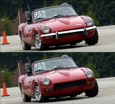 Mouth Grills, Triumph Spitfire, Beautiful Fish, 16 Year Old, Cool Cars, My Design, Classic Cars, Gadgets, Bike