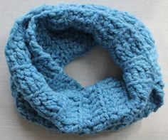 Baby Boy Blue Mobius Scarf by jubilee127 on Etsy, $18.00