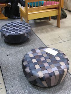 Puffs made From Tires