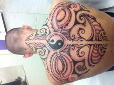 Polynesian two face...