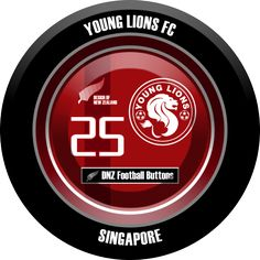 DNZ Football Buttons: Young Lions FC                                                                                                                                                                                 Mais
