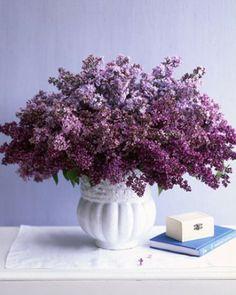 Ombre Lilac Centerpiece