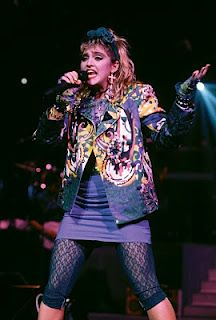 I love love the 80's madonna!! Although I only seen the concert on vhs around the early 90's...lol--- Virgin Tour (1985) - Madonna