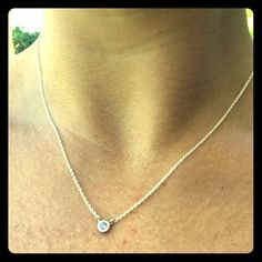 Elsa Peretti Color by the Yard necklace in sterling silver with tanzanites Tiffany & Co. k4f5FuxgQh