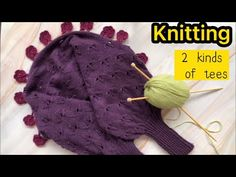 How to design and weave two kinds of shawls? With only 40 stitches。编织毛衣DIY4004 - YouTube Knitted Hats, Weaving, Knitting, Shawls, Tees, Stitches, Youtube, Design, Fashion