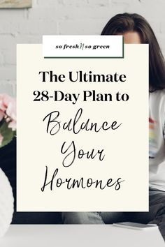 The ultimate 28-day hormone reset meal plan. This guide is willed with hormone balancing recipes, grocery lists, and steps to help you optimize your health, happiness, energy and so much more. #fertility #hormones Fertility Food For Women, Fertility Foods, Healthy Eating Tips, Healthy Weight, Healthy Habits, Seed Cycling, Doctor Reviews, Best Green Smoothie, Healthy Mind And Body