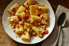 Paccheri with Swordfish Ragu Recipe on Food52 recipe on Food52