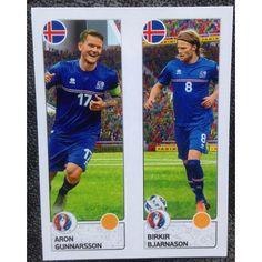 Football Soccer Sticker Panini UEFA Euro 2016 #607 Iceland