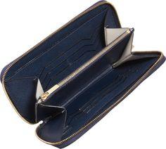 Valextra zip-around wallet