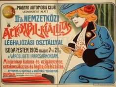Vintage Ads, Vintage Posters, Retro Posters, Edwardian Era, Victorian, Illustrations And Posters, Budapest, History, Redheads