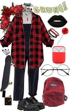 Egirl Fashion, Teen Fashion Outfits, Retro Outfits, Grunge Outfits, Cool Outfits, Creepypasta Oc, Character Inspired Outfits, Outfit Goals, Types Of Fashion Styles