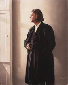 Self Portrait in Black - Jack Vettriano Jack Vettriano, The Singing Butler, Selfies, Michael Carter, Pulp Art, Famous Artists, British Artists, Jack Black, Portraits