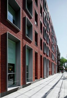 The Hegeman residence community by Cook + Fox, Brownsville, Brooklyn,NY, USA