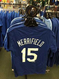Your new favorite rookie!  Whit Merrifield shirts now for sale!  Go Royals!  #brantsclothing