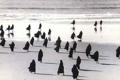 Shirin Neshat. Rapture (video still). 1999.