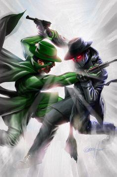 Green Hornet vs Black Hornet
