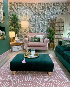 Home styling Home decor Interior styling Interior design Living Room Green, Home Living Room, Living Room Designs, Living Room Decor, Bedroom Decor, Aesthetic Room Decor, My New Room, House Rooms, Home Decor Inspiration