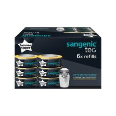 Our Sangenic refill cassettes lock away germs and odours in advanced, multi-layer antibacterial film. Just drop a cassette into the top of the tub and it's ready for use in seconds.* based on size 3 nappies, using three nappies per Baby Bunting, Baby Love, Baby Baby, Everything Baby, Baby Bumps, 6 Packs, Baby Accessories, Baby Shop