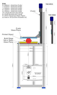 Dlp Projector Structure - Highres 3d printer