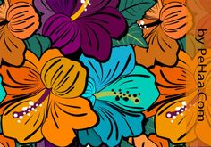 Very Flowery Floral Pattern | Free Photoshop Pattern at Brusheezy!