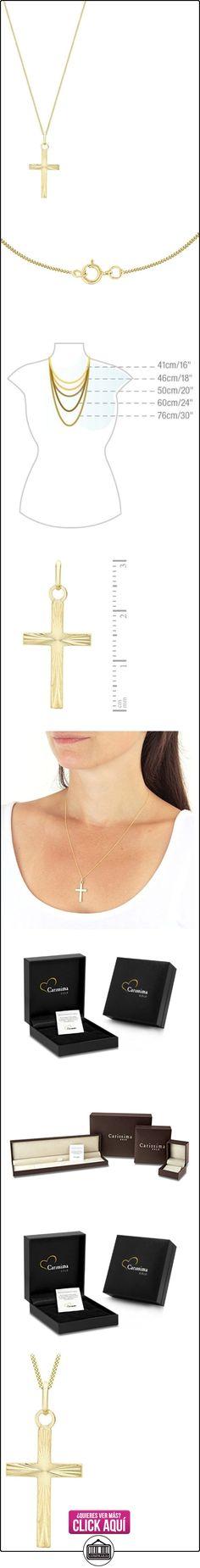 Carissima Gold Collar unisex con oro amarillo de 9 quilates (375/1000), 46 cm  ✿ Joyas para mujer - Las mejores ofertas ✿ ▬► Ver oferta: https://comprar.io/goto/B0051SMG1M