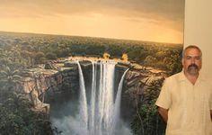 Carlos Ríos Rodríguez es un paisajista cubano egresado de la carrera de arquitectura en el Instituto Superior Politécnico de La Habana. Llegó a México en 1994 y su primera incursión en el arte de la pintura fue en 1995 cuando participa como finalista en la exposición del Concurso Nacional de la Acuarela organizado por el Museo Nacional de la Acuarela.