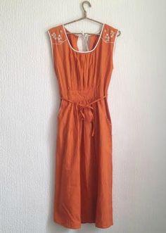 Vintage Boho Long Embroidered Wrap Dress