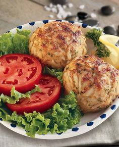 OLD BAY® Crab Cakes : If you like Maryland crab cakes, you will love this classic recipe featuring fresh lump crabmeat that is sensationally seasoned with OLD BAY Seasoning.