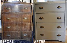 Old to new dresser...so want to do this!!