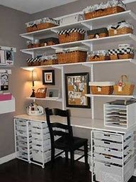 Great storage doesnt have to be expensive or take up that much space! Like the black and white color scheme.