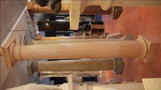 Colonne in marmo - http://www.achillegrassi.com/project/colonne-stile-dorico-in-marmo-rosso-asiago-magnaboschi-lucido/ - Colonne stile dorico in Marmo Rosa Asiago lucido Dimensioni:  250cm x 40cm x 40cm Ø 30cm