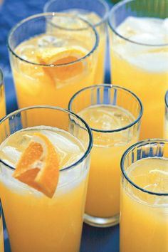 This simple mixture of orange juice and lemon-lime soft drink offers the refreshing bubbles from the carbonated soda with the tang of citrus juice.  Recipe: Homemade Orange Soda