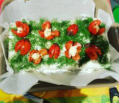 """""""Min första Smörgåstårta #happyeaster #swedishfood #svenskaföda #smörgåstårta #sandwichcake #easter #easter2016 #påske  #godpåske #pasqua #buonapasqua…"""""""