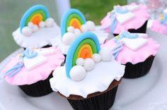 Cupcakes da festa do Unicórnio