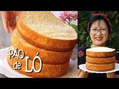 (62) PÃO DE LÓ FÁCIL | SUPER MACIO PARA BOLOS E TORTAS | DIKA DA NAKA - YouTube