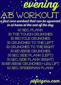 Thanks For My New Butt, Pinterest! Workout Posters We Love: Source: Peanut Butter Fingers