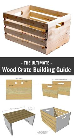 Ana White | Wood Crate Building Guide - DIY Projects #woodworkingplans #woodwork