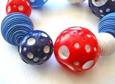 empty beads tuto  Урок - полые, двухцветные бусины