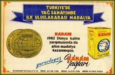 #Mersin #Tarsus- KARAM YAĞLARI'na  ait bir ilan  Kay. Milliyet Gaz. 1982
