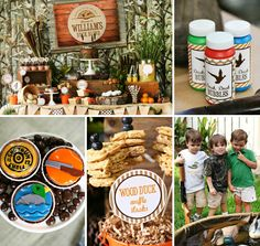 This Duck Hunting Birthday Party by Lauren Haddox Designs is seriously quack-tastic (especially if you're a Duck Dynasty fan)!