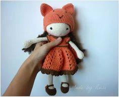 Amigurumi crochet doll ❤️