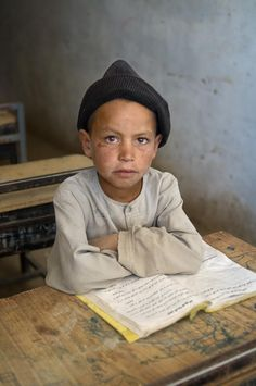 Steve McCurry, School