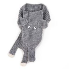 Adorable little scarf, comes in elephants AND zebras