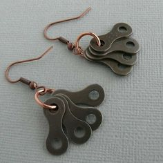 Bike jewelry copper cycling bicycle chain by WanderingJeweler, $15.00