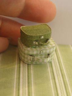 By Lotta Satomaa. Miniature travel cases