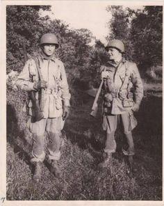 Brigadier General James Gavin, 82nd Airborne Division. Normandy - June 1944.